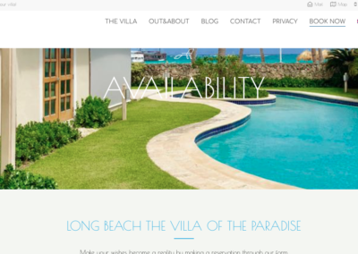 Web Villa Long Beach Punta Cana