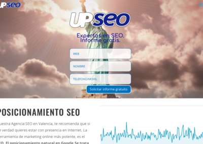 Diseño web AgenciSeo UP